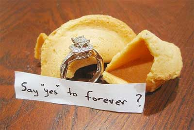 Wedding Proposal Ideas Instead Fortune Question